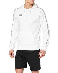 adidas Core18 Hoody Sweatshirt - Grau