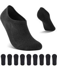 HIKARO - Amazon Brand Sneaker Socken Footies Unsichtbare Kurze 9 Paar Sportsocken Großes Silikonpad Verhindert Verrutschen - Lyst