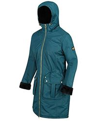 Regatta Romina Waterproof And Breathable Insulated Hooded Jacket - Blue