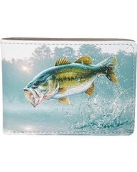 Buxton - Wildlife First Of The Day Front Pocket Slimfold Wallet - Lyst