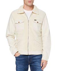 Wrangler S Sherpa Denim Jacket - Weiß