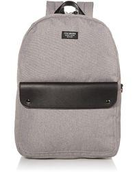 Steve Madden Slip Pocket Backpack - Grey