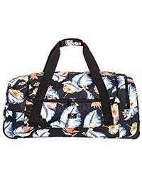 Roxy Large Wheeled Duffle Bag - Black