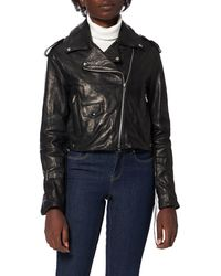 Replay W7688 .000.84276 Leather Jacket - Multicolour