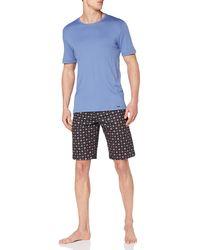 Hanro Pyjama 1/2 Arm Set di Pigiama - Grigio