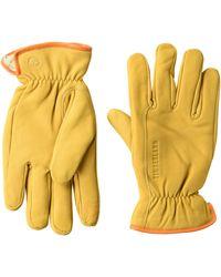 Timberland Nubuck Leather Glove - Yellow