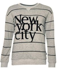 Superdry Supersoft NYC Graphic Top Pull - Multicolore
