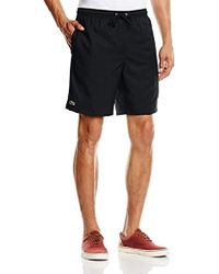 Lacoste - Plain Taffeta Sport Shorts - Lyst