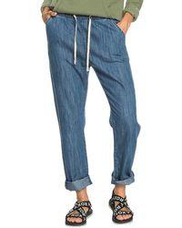 Roxy Slow Swell Beachy Beach Jeans - Bleu