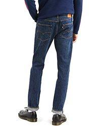 Levi's Hombre 511 Adelgazan los Pantalones Vaqueros Crosstown, Azul - Gris