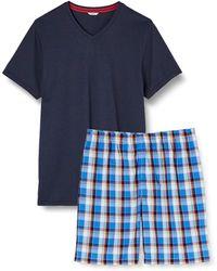 Esprit Bodywear Alcot Nw Combi Pyjama Pyjama Set - Blue