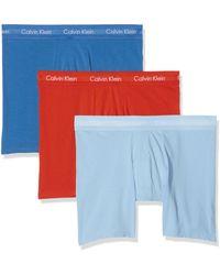 Calvin Klein 3P Trunk - Multicolore