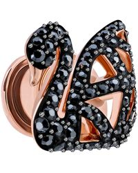 Swarovski Broche Mujer Chapado en Oro - 5439870 - Negro