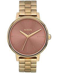 Nixon Analog Quarz Uhr mit Edelstahl Armband A099-3006-00 - Mettallic