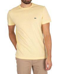 Lacoste Croc T-shirt - Yellow