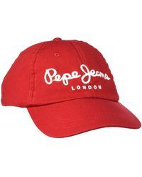 Pepe Jeans TORLA Cap - Rouge