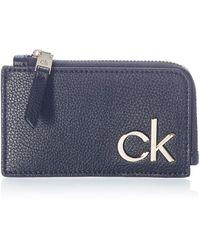 Calvin Klein CARDHOLDER W Zip Reisezubehör- Reisebrieftasche - Schwarz