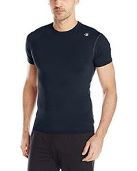 Champion - Double Dry Competitor Compression Tee - Lyst