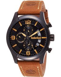 Timberland S Multi Dial Quartz Watch With Leather Strap Tbl15633jsb.02 - Multicolour