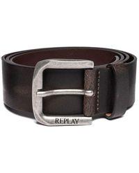Replay Am2453.000.a3001e Belt - Brown