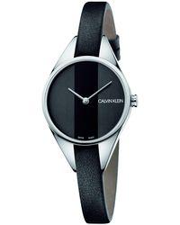 Calvin Klein Reloj de Vestir K8P231C1 - Negro