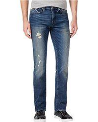 Guess - Slim Straight Jean - Lyst