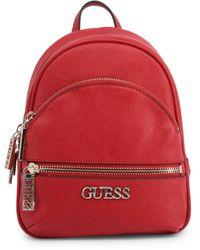 Guess Small Backpack MOCHILA PEQUEÑA MANHATTAN - Rojo