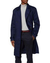 FIND Smart Cotton Trench - Blue