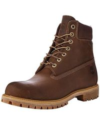 Timberland Heritage 6 inch Premium Imperméable, Bottes Homme - Marron