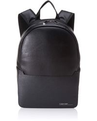 Calvin Klein Sliver Mix Single Round Backpack - Negro
