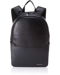 Calvin Klein S Sliver Mix Single Round Backpack Shoulder Bag Black