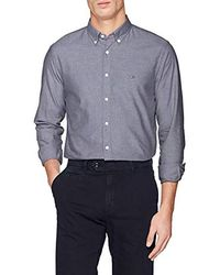 Tommy Hilfiger Sandwashed Oxford Shirt Chemise Casual - Multicolore