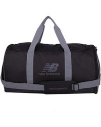 New Balance Sports Duffel Bag - Small, Medium, Large Options - Noir