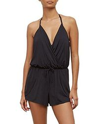 Kenneth Cole Reaction - Ready To Ruffle Romper One Piece Swimsuit - Lyst