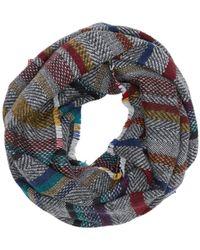 S.oliver RED LABEL Web-Loopschal mit Streifen black stripes 1 - Schwarz