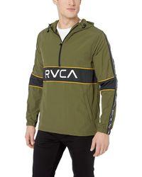 RVCA Adapter Anorak Jacket - Green