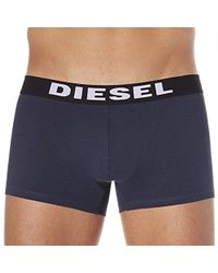 DIESEL - 3-pack Shawn Stretch Boxer Trunk - Lyst