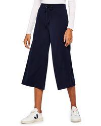 FIND Wide Leg Pantalon - Bleu