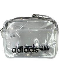 adidas Originals Transparent Airliner Bag - Gray