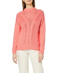Dorothy Perkins Coral Cable Jumper Pullover Jumper - Pink