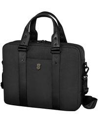 Victorinox Architecture Urban Bodmer 14 Laptop Briefcase - Black