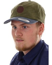 O'neill Sportswear Basecap Cappy Dachmütze grün Tahoe Corduroy Aufnäher modisch