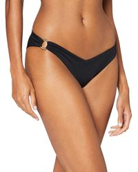 Iris & Lilly Slip Bikini SGAMBATO - Nero