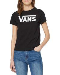 Vans Flying V Crew tee Camiseta - Negro