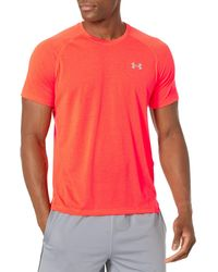 Under Armour Streaker Short-sleeve T-shirt - Red