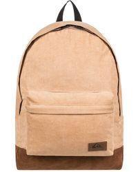 Quiksilver Medium Corduroy Backpack - Natural