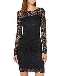 Glenna Dress Robe Femme Noir