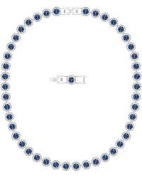 Swarovski Angelic Halskette - Blau