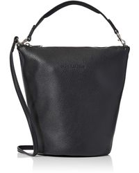 Calvin Klein Ckj Ultra Light Zip Top Bucket - Black