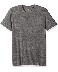 AG Jeans - Bryce Short Sleeve Heathered Crew Neck Tee - Lyst